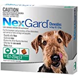 NEXGARD FOR DOGS 10.1-25KG - Green 3 Pack