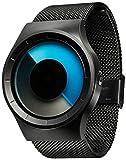 【日本正規代理店品】ZIIIRO ジーロ ドイツ 腕時計 セレステ Cereste ユニセックス (ブラック-青)