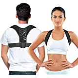 Easy to Adjust Posture Corrector for Men and Women - Improve Your Posture While Sitting At Your Desk - Relief From Neck and B