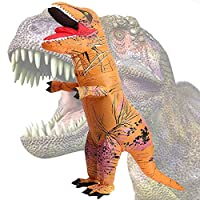 Inflatable Dinosaur Costume, Fancy Dress, Blow Up T-Rex Costume for Party Gifts Halloween