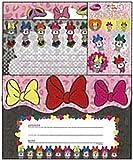 サンスター文具 ミニーマウス レターセット DC VIVIDGIRL MN-A S2027496