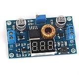 【ノーブランド品】電源モジュール パワーモジュール 調整可能 ステップダウン 電圧計 5A 75W DC-DC