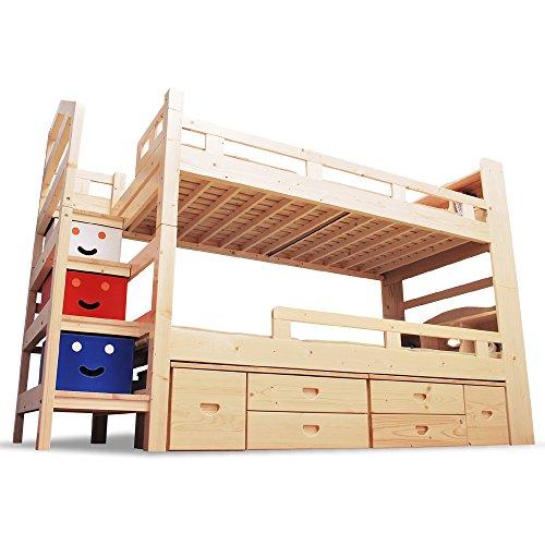 二段ベッド 収納