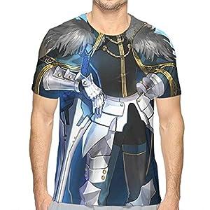 メンズ Tシャツ Fateextra Gawain ガウェイン ター デザイン プリントおしゃれシンプル 通勤 通学 運動 日常用 XL