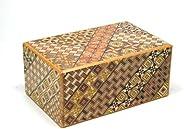 寄木細工 秘密箱10回仕掛け 5寸 小寄木 Japanese puzzle box 10steps Koyosegi