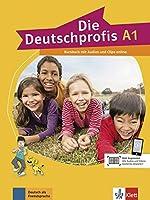 Die Deutschprofis: Kursbuch A1 + Audios und Clips online