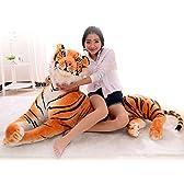 ぬいぐるみ  特大  虎/タイガー  大きい  動物  120cm   可愛い とらぬいぐるみ/虎縫い包み/とら抱き枕/お祝い/ふわふわぬいぐるみ