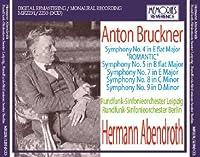 Bruckner Symphonies 4 5 (Leipzig Radio Orchestra/ Hermann Abendroth. Studio Recordings 11/16 by VARIOUS ARTISTS