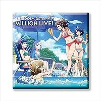 アイドルマスター ミリオンライブ! トレーディングCDジャケット缶バッジ BOX商品 1BOX=11個入り、全11種類