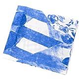 (マリメッコ)marimekko 生地 布 約70cm×50cm ハーフカット おためし生地 北欧 17567 AATTO 150 white/blue [並行輸入品]