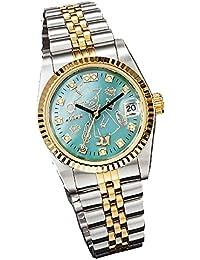 ムーミン 70周年記念腕時計 ウォッチ ダイヤ スワロ (スナフキン) [並行輸入品]