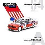 TARMACWORKS 1/64 BMW M3 E30 Spa 24hours Race 1992 Winner Driver:Soper/Martin/Danner 完成品