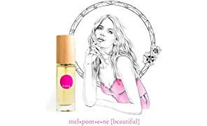 IME 100% Natural Perfume - melpomene [beautiful] Oriental Scent - feel empowered, strong, beautiful. Certified Toxin & Cruelty Free. 30ml EDP