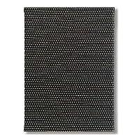 メニューピン仕様 A4判 編目 メニューブック(A-4 4ページ仕様) E-302 黒