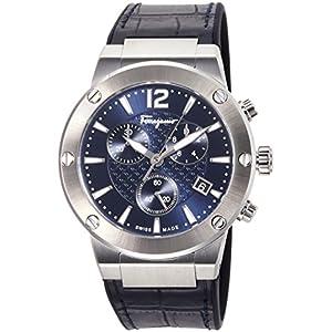 [フェラガモ]Ferragamo 腕時計 F-80 ネイビー文字盤 FIJ020017 メンズ 【並行輸入品】