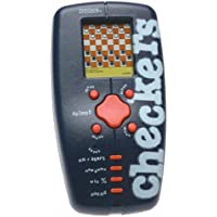 Trademark Global 10-4172010, Pocket travel electronic Checkers by Poker [並行輸入品]