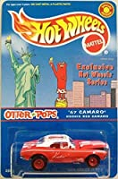 HOT WHEELS 1:64 SCALE '67 CAMARO KOOKIE RED CAMARO OTTER POPS SPECIAL EDITION COLLECTOR'S SERIES #3 OF 7