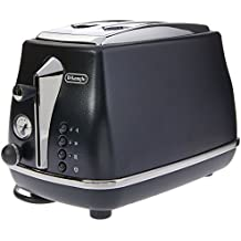 DeLonghi Icona Elements 2 Slice Toaster - CTOE 2003BL - Blue