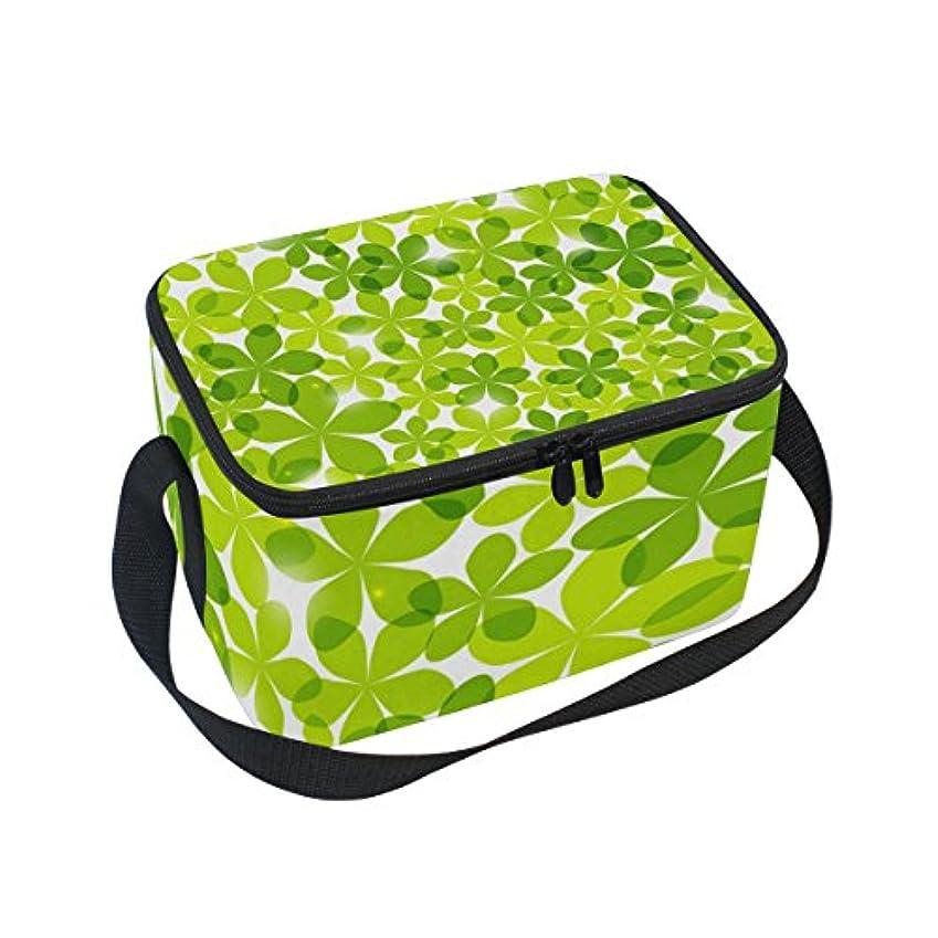 アシュリータファーマン珍しい風が強いクーラーバッグ クーラーボックス ソフトクーラ 冷蔵ボックス キャンプ用品  緑花柄 保冷保温 大容量 肩掛け お花見 アウトドア