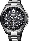 [シチズン]CITIZEN 腕時計 ATTESA アテッサ Eco-Drive エコ・ドライブ GPS衛星電波時計 F900 ブラックチタンシリーズ CC9075-52E メンズ
