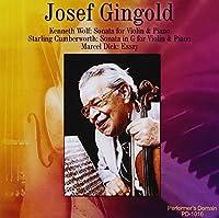 Josef Gingold Historic Recordings