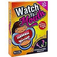 Watch Ya' Mouth ファミリカードゲーム – 本格的 とても面白い マウスピース パーティーゲーム