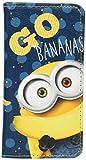 グルマンディーズ iPhone8/7(4.7インチ) ケース フリップカバー 怪盗グルーシリーズ(ミニオンズ) ボブ&バナナ mini-62a
