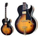 BURNY バーニー フルアコギター RFA-75 BS
