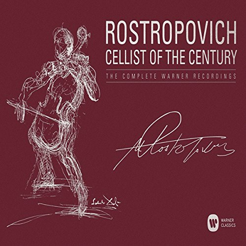 Mstislav Rostropovich - Cellist of the Century - The Complete Warner Classics Recordings
