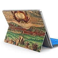 Surface pro6 pro2017 pro4 専用スキンシール サーフェス ノートブック ノートパソコン カバー ケース フィルム ステッカー アクセサリー 保護 写真・風景 絵画 イラスト 006207