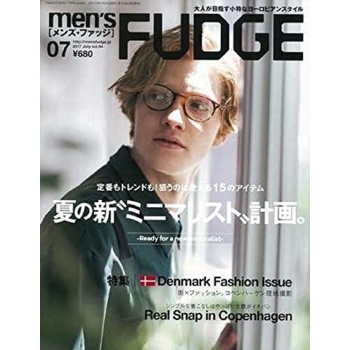 men's FUDGE -メンズ ファッジ- 2017年7月号 Vol.94