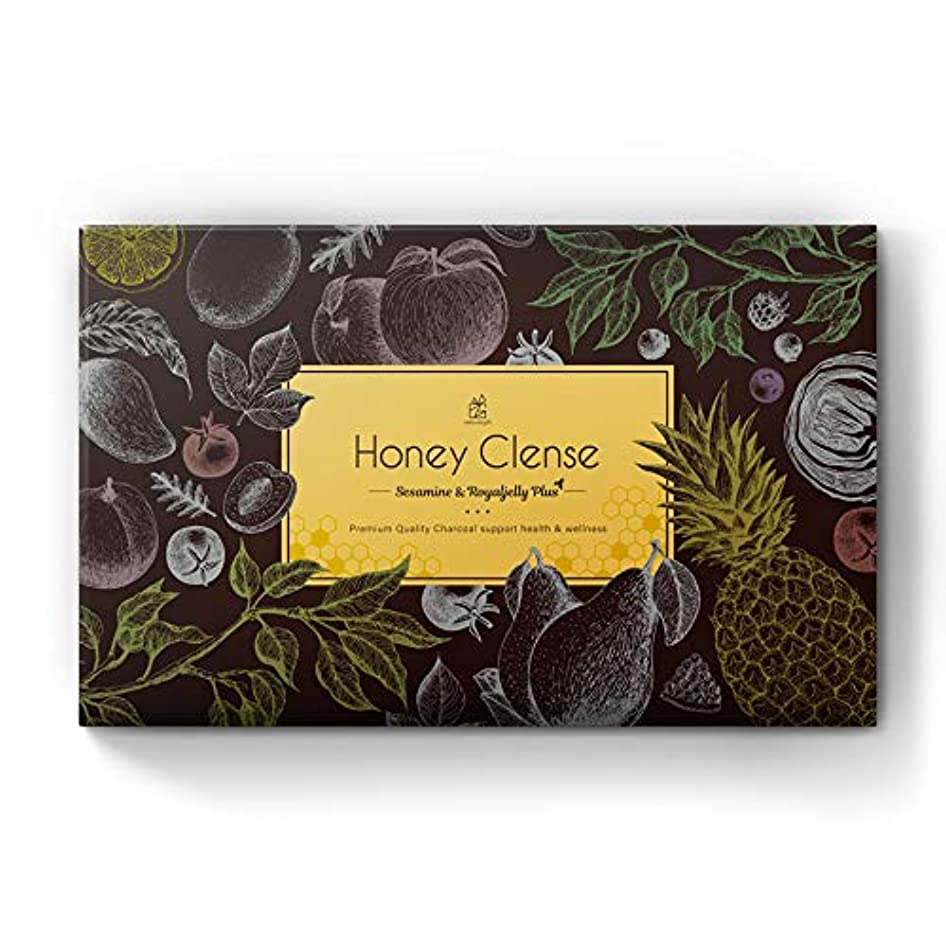ペダルカルシウム繕うナチュラルギフト HoneyClense 炭サプリメント 30包1ヶ月分 日本製 (単品)