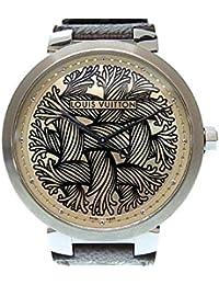 (ルイ・ヴィトン) LOUIS VUITTON Q1D060 クリストファーネメス コラボ ロープ タンブール 腕時計 モノグラムキャンバス/ステンレススチール メンズ LV 0006 中古