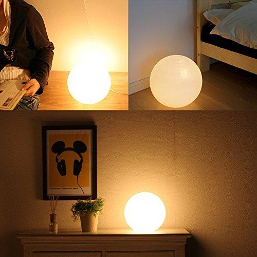 GIWOX ledライト ライトランプ ledデスクライト led ヘッドライト LEDイルミネーションライト ひかり クリスマス用 目に優しい 12cm 16色調整可能 丸型 バレンタインデー