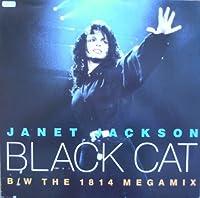 "Black Cat / Megamix - Janet Jackson 12"""