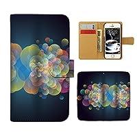 (ティアラ)Tiara Galaxy A30 SCV43 スマホケース 手帳型 stylish 手帳ケース カバー アブストラクト アート クール E0078010106903