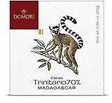 ドモーリ DOMORI トリニタリオ70% シングルオリジン マダガスカル 板チョコレート 25g  イタリアを代表するチョコレートブランド