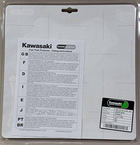 KAWASAKI 純正 カワサキ 2014モデルZ1000用 タンクパッド (Zロゴ) E168TPT0075 J99994-0942