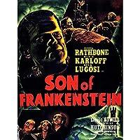 Movie Film Sequel Son Frankenstein Karloff Lugosi Horror USA Art Print Poster Wall Decor 12X16 Inch 映画膜ホラーアメリカ合衆国ポスター壁デコ