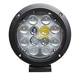 LED サーチライト オレンジ光 60w 12v 24v 兼用 広角タイプ  【オリジナル商品】 13ヵ月保証