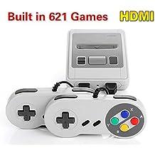 Retro Mini Classic Video Game Console - Preload 621 Games HDMI- Out