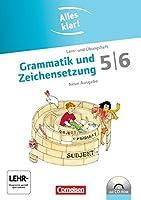 Alles klar! Deutsch. Sekundarstufe I 5./6. Schuljahr. Grammatik und Zeichensetzung. Inkl.CD-ROM: Lern- und Uebungsheft mit beigelegtem Loesungsheft