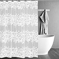 シャワーカーテンエヴァパーティションカーテン防水カビパッド入りカーテン、シェードカーテン環境に優しい、半透明 (サイズ さいず : 240*200cm)