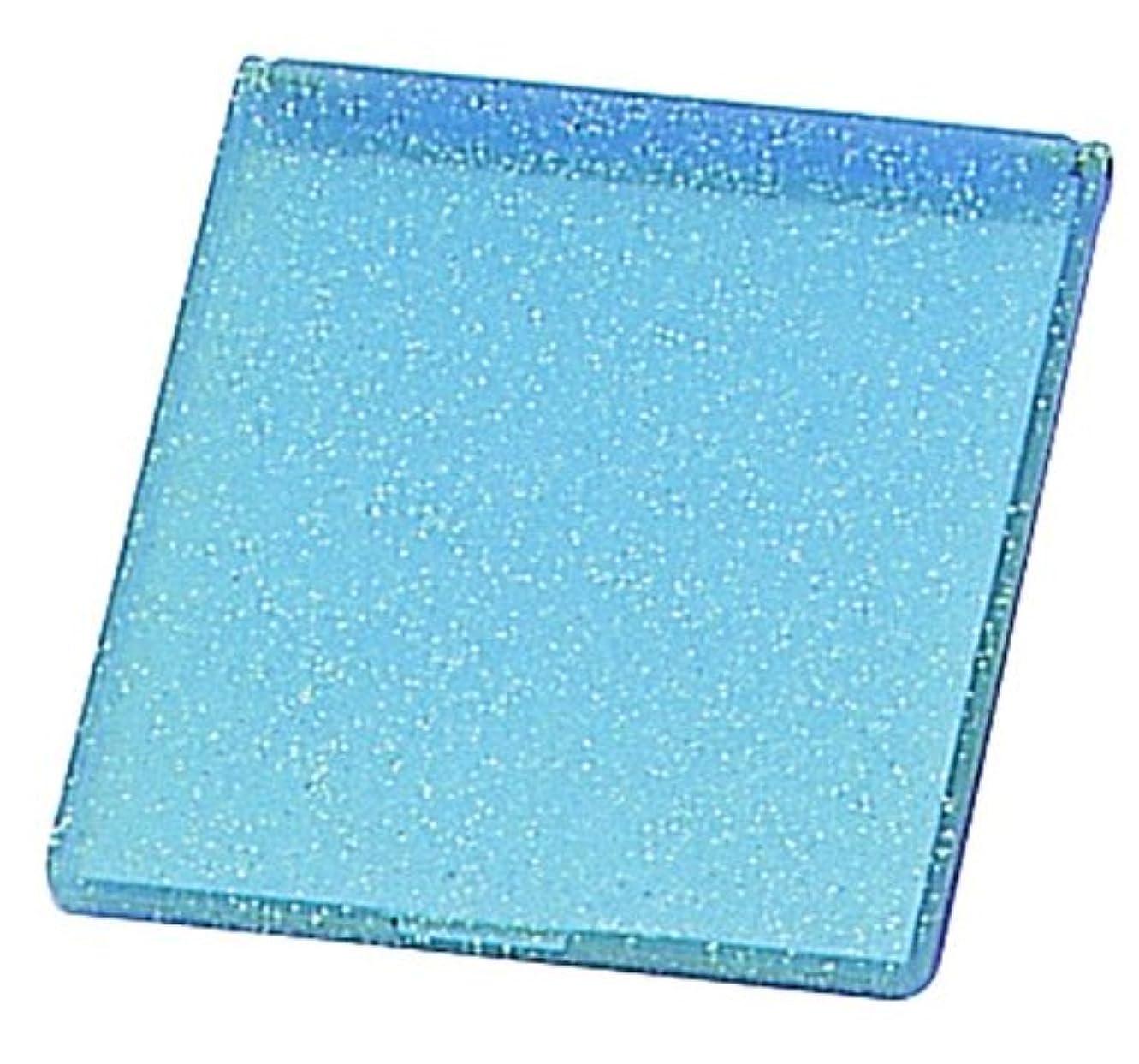 マニュアル代替案降伏ラメ入り コンパクトミラー M ブルー YLA-500