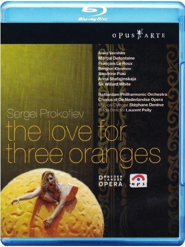 プロコフィエフ:3つのオレンジへの恋(ネーデルラント・オペラ2005)[Blu-ray]