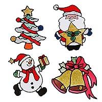 LEDMOMO クリスマスウィンドウステッカー感謝祭パーティーデコレーション飾りウォール壁部屋テッカーデカール新年の装飾クリスマスオーナメント雰囲気満点4枚