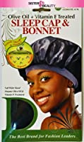 Donna Collection オリーブオイル&ビタミンEスリープキャップ&ボンネット処理されました