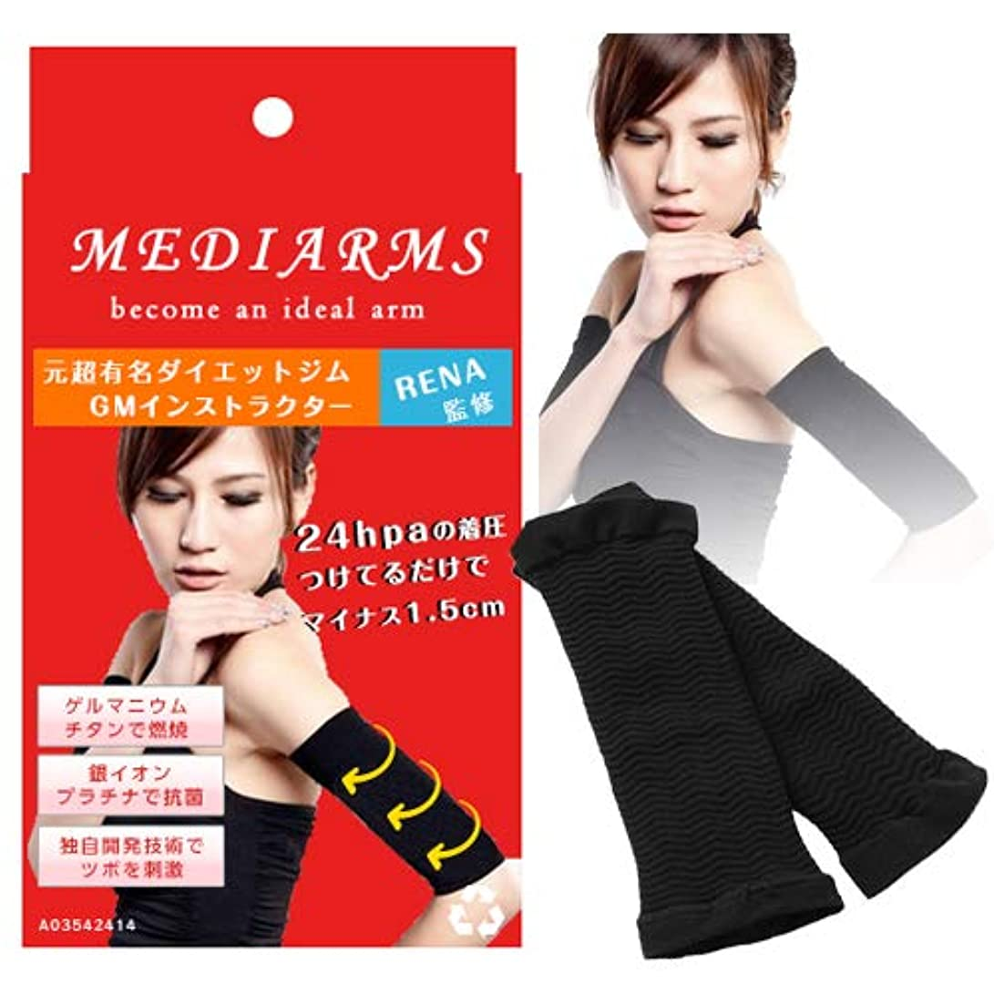 スイス人消化器手荷物メディアームズ ~MediArms~ 二の腕シェイパー