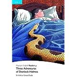 Penguin Readers: Level 4 THREE ADVENTURES OF SHERLOCK HOLMES (Pearson English Graded Readers)