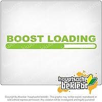ブーストロード Boost Loading 20cm x 3cm 15色 - ネオン+クロム! ステッカービニールオートバイ